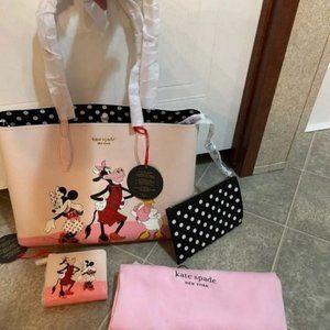 Kate Spade X Disney Clarabelle Purse Set